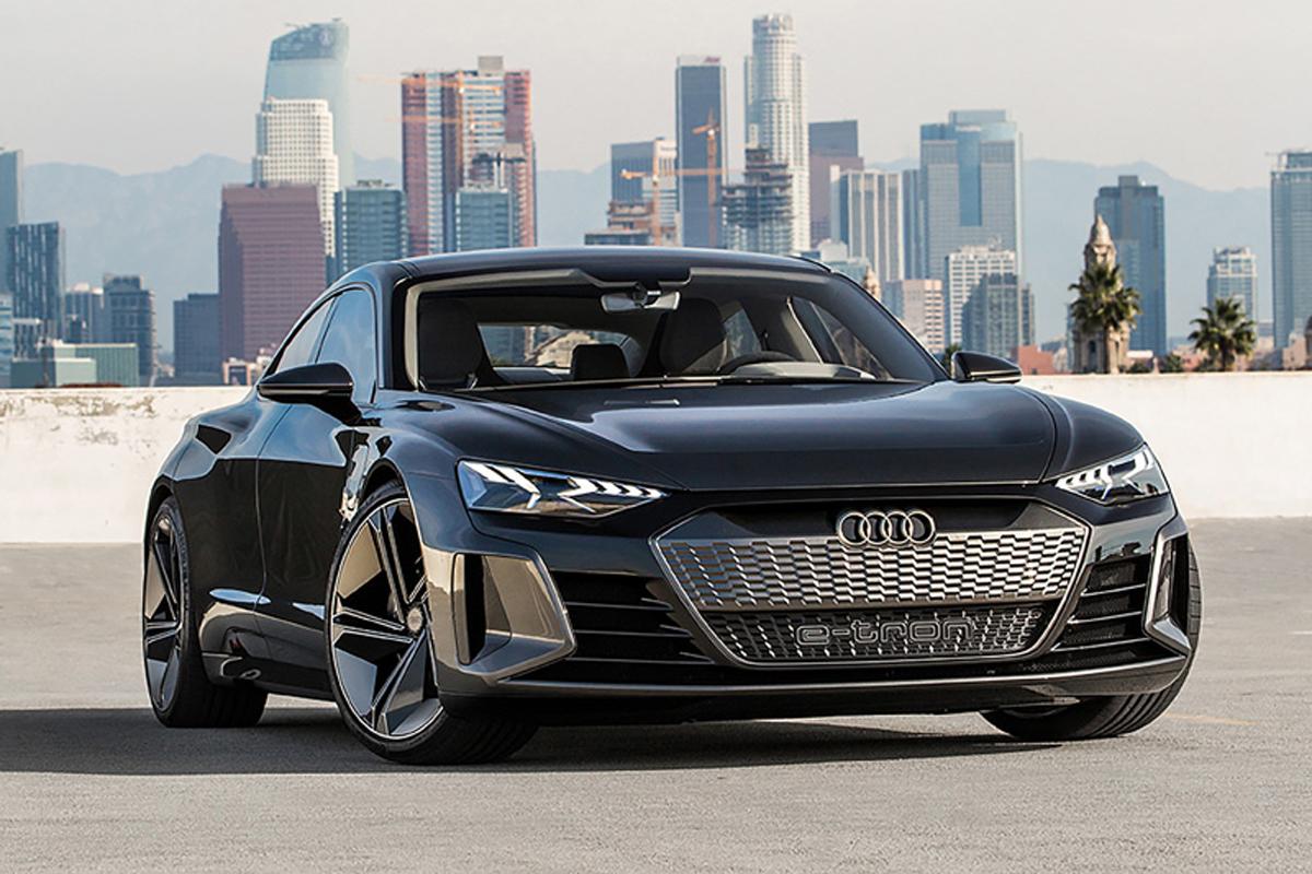 アウディ Audi e-tron GT concept