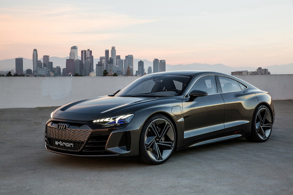 Audi e-tron GT concept エクステリア①