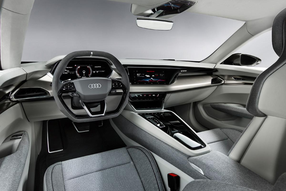 Audi e-tron GT concept インテリア①