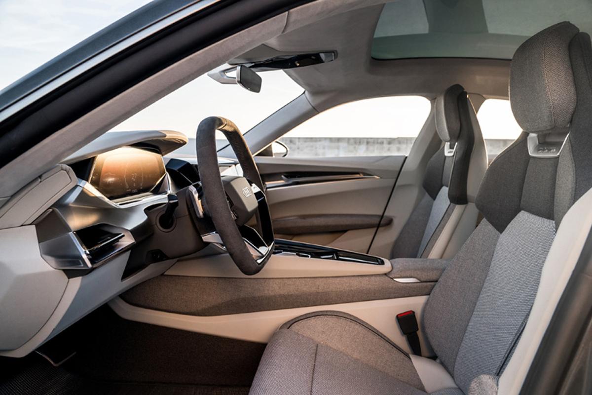Audi e-tron GT conceptインテリア②