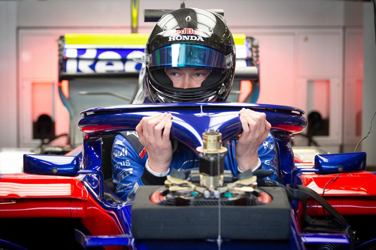 F1 ダニール・クビアト トロロッソ・ホンダ