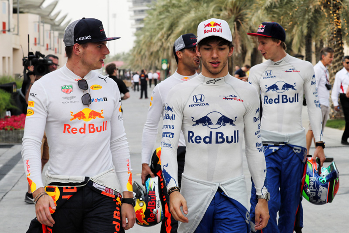 F1 マックス・フェルスタッペン ピエール・ガスリー