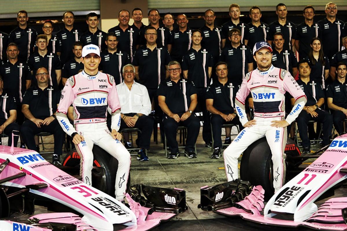 F1 セルジオ・ペレス エステバン・オコン