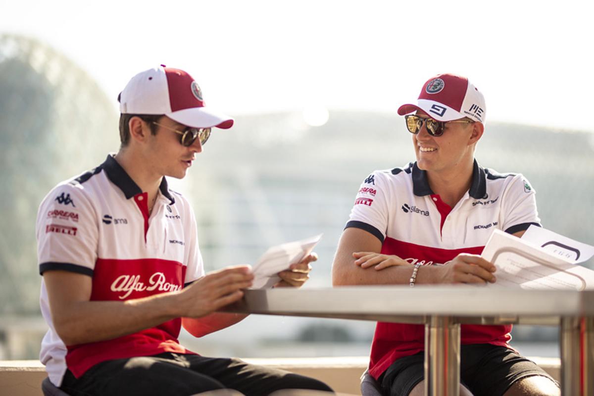 F1 シャルル・ルクレール マーカス・エリクソン