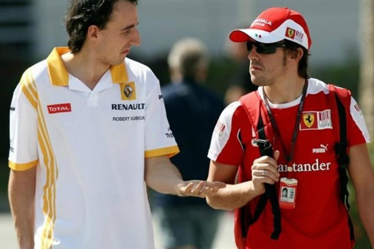 F1 ロバート・クビサ フェルナンド・アロンソ