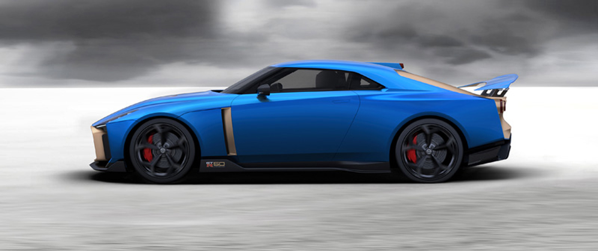 Nissan GT-R50 by Italdesign ①