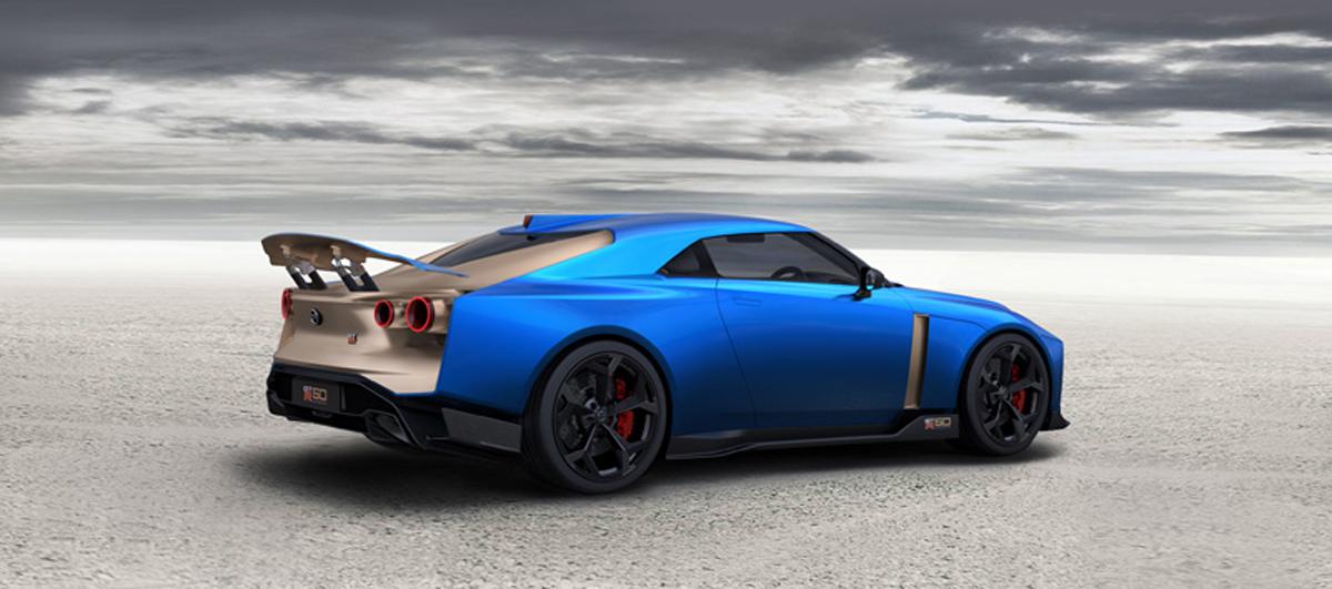 Nissan GT-R50 by Italdesign ②