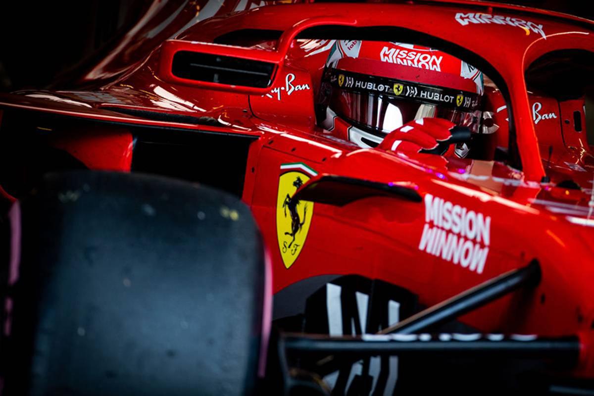 F1 セバスチャン・ベッテル シャルル・ルクレール フェラーリ
