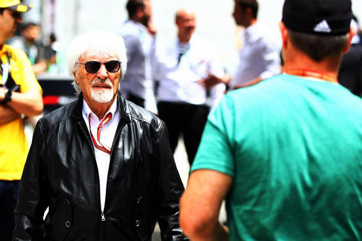 F1 バーニー・エクレストン シルバーストーン