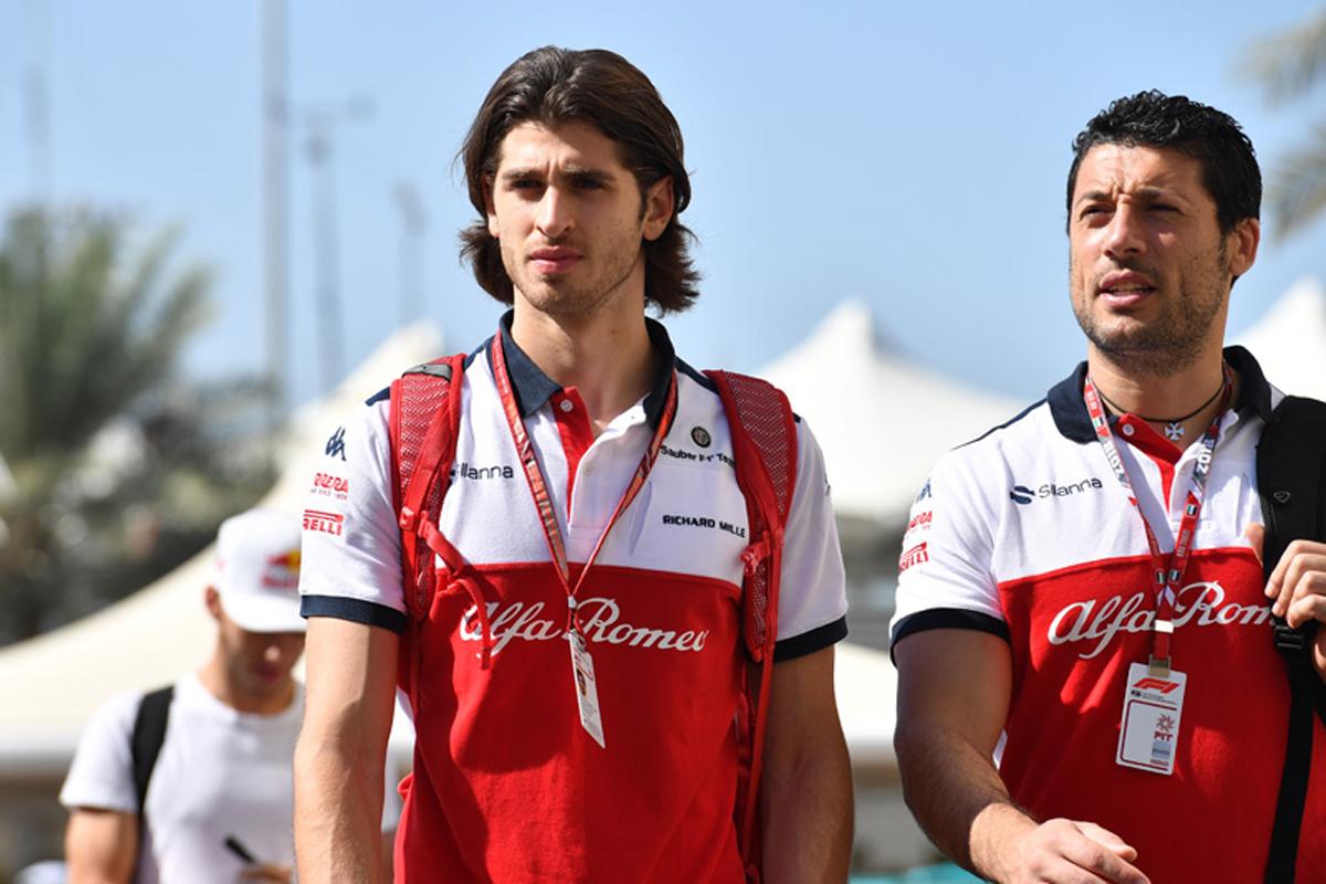 F1 アントニオ・ジョビナッツィ ザウバー