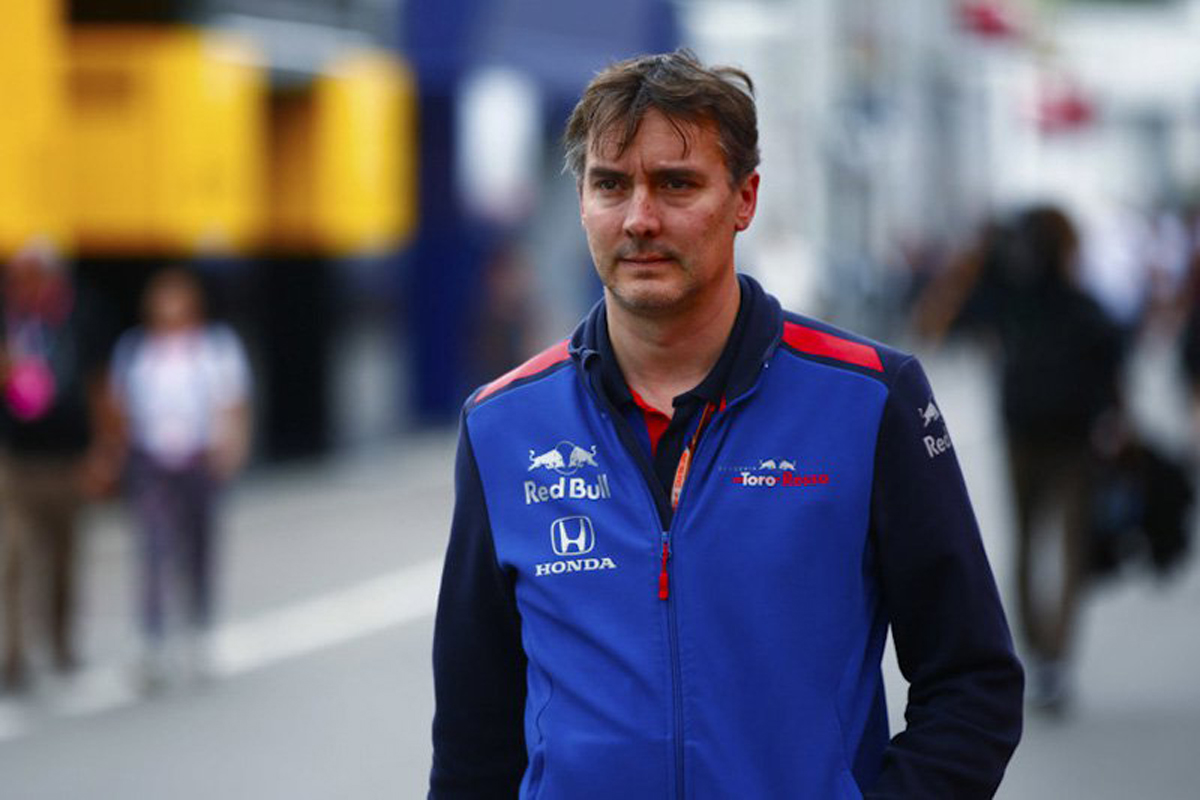 F1 トロロッソ ジェームス・キー