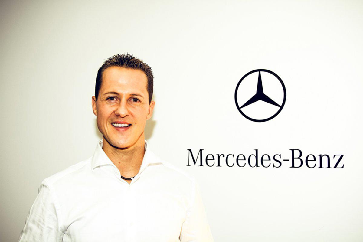 F1 ミハエル・シューマッハ メルセデスAMG F1