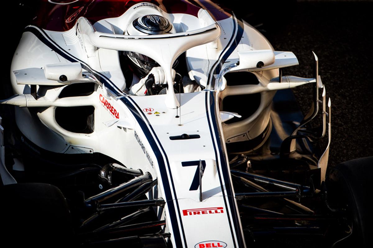 F1 キミ・ライコネン ザウバー