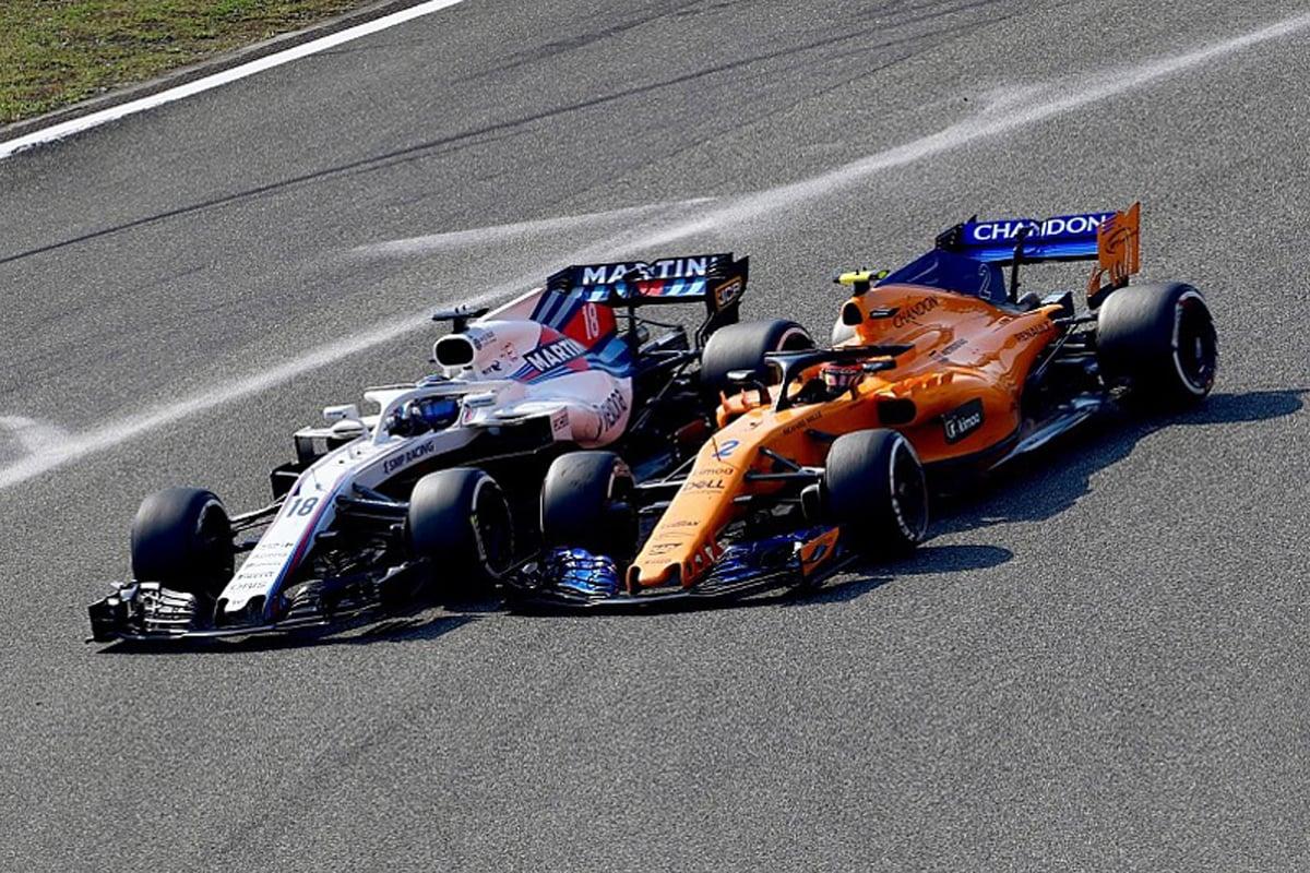 F1 マクラーレン ウィリアムズ