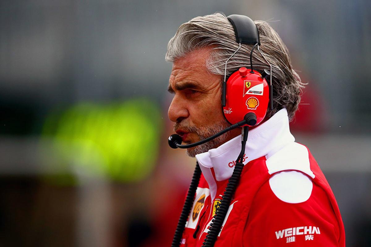 F1 マウリツィオ・アリバベーネ フェラーリ ザウバー