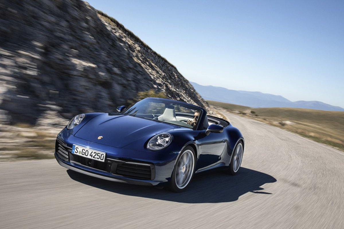 ポルシェ 新型911 カブリオレ