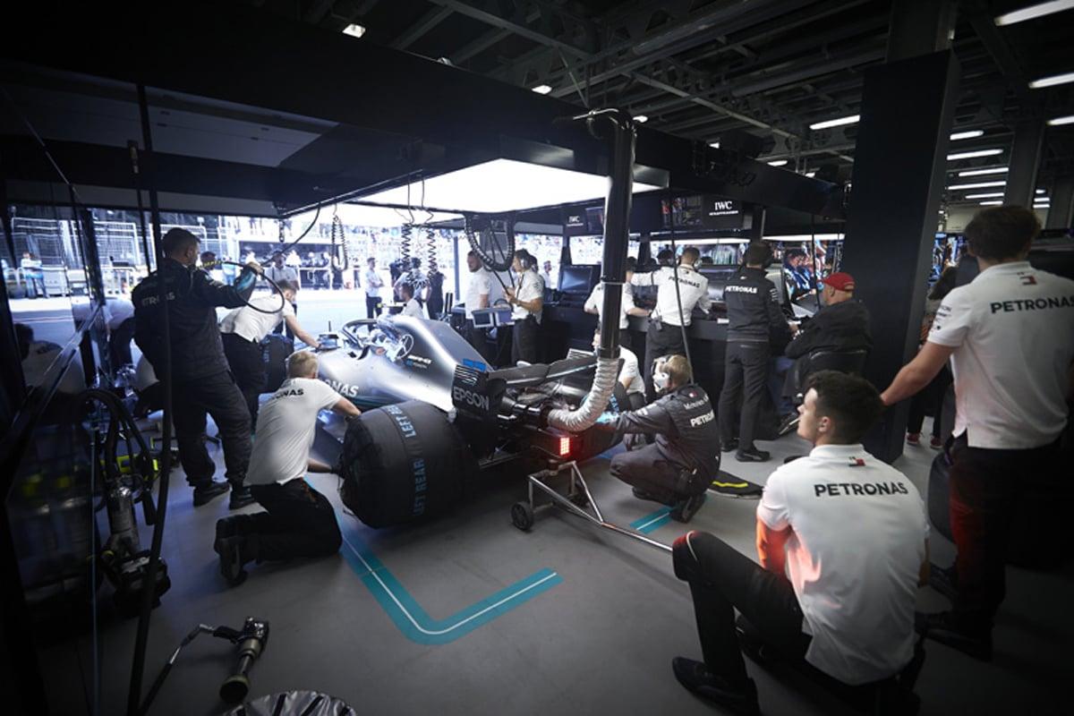 F1 メルセデス 2019年のF1世界選手権