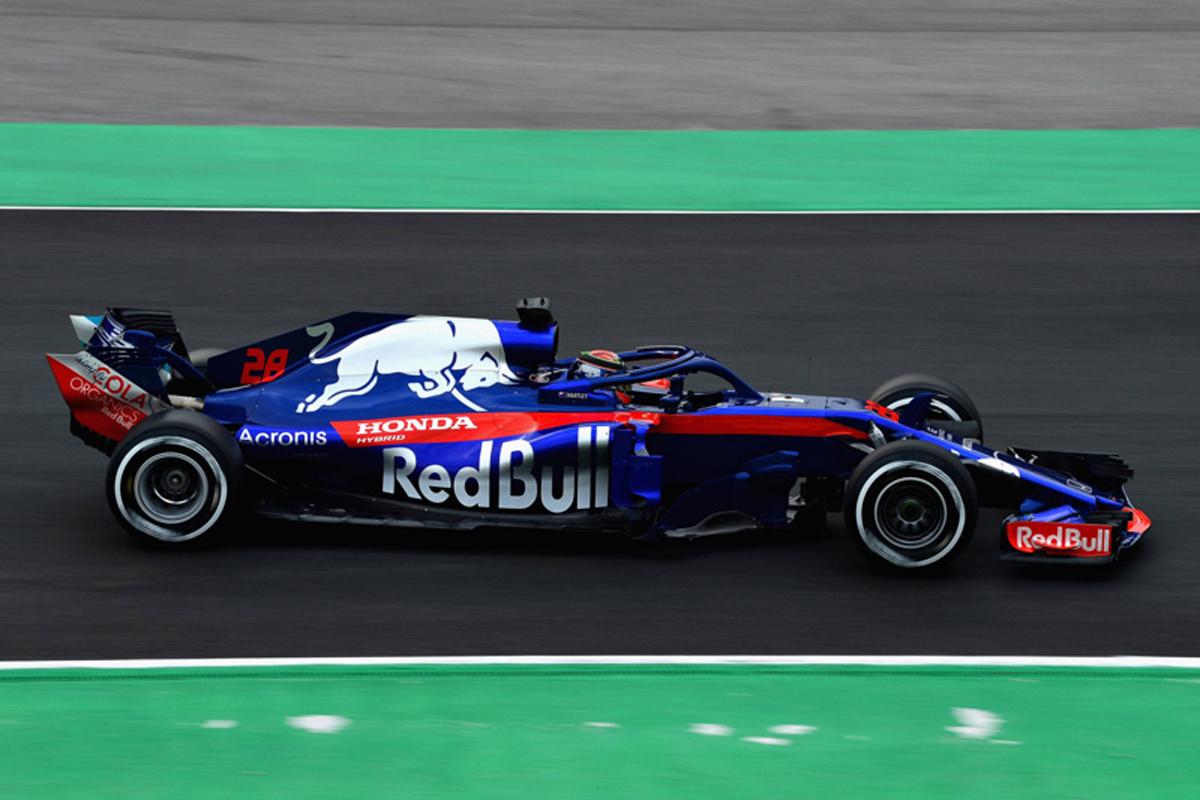 トロロッソ・ホンダ STR13 プレシーズンテスト画像04