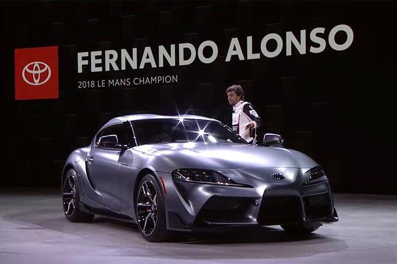F1 フェルナンド・アロンソ 新型スープラ