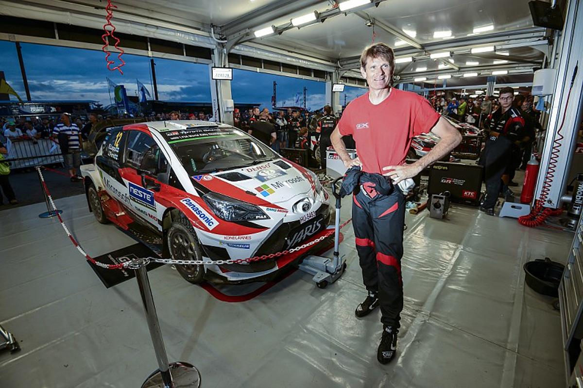 WRC マーカス・グロンホルム ヤリスWRC