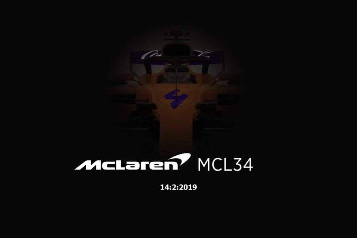 F1 マクラーレン MCL34 2019年のF1世界選手権