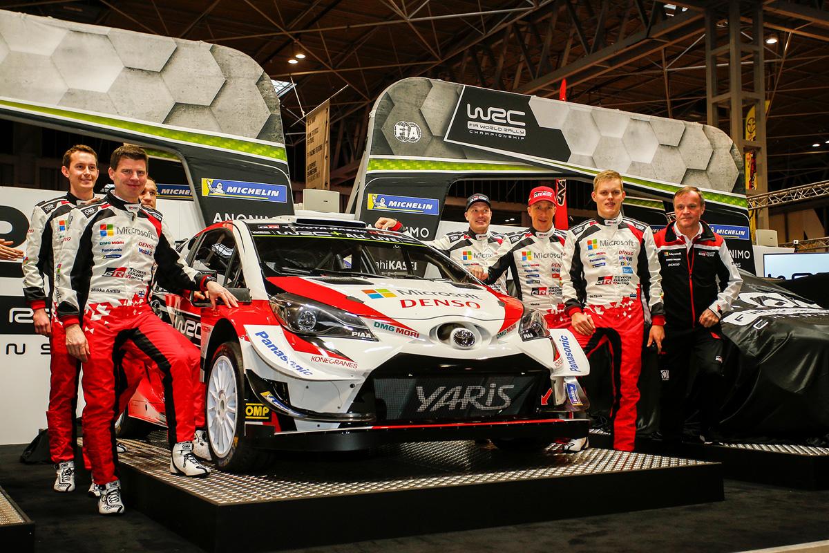 トヨタ WRC 世界ラリー選手権