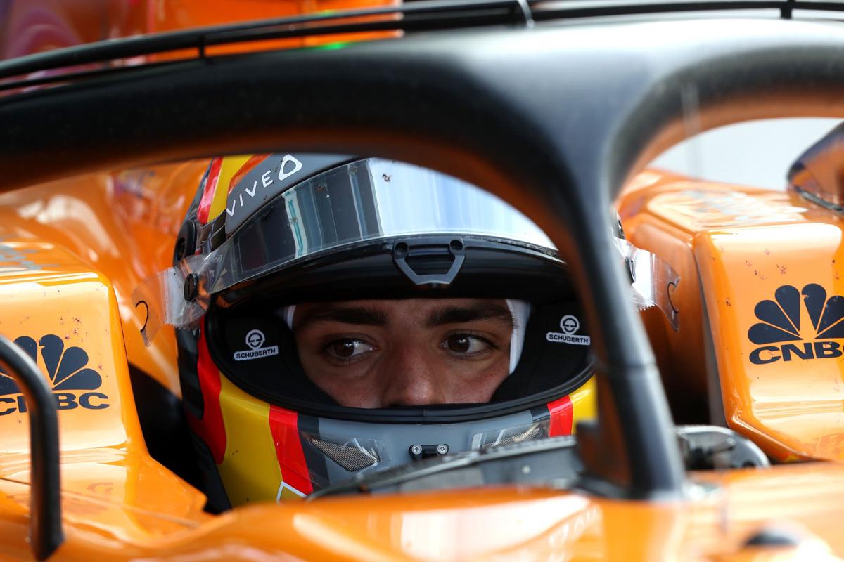 F1 カルロス・サインツ ルノーF1 マクラーレン