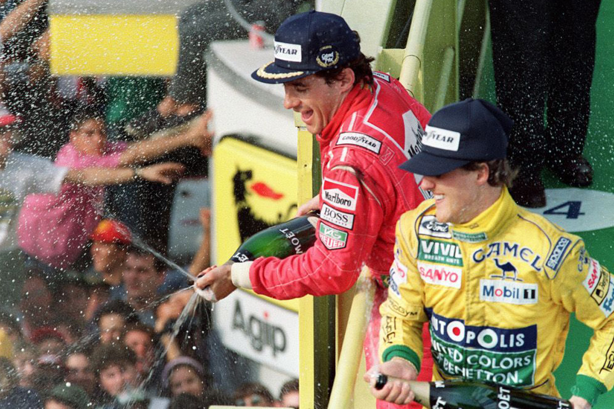 F1 ミハエル・シューマッハ アイルトン・セナ
