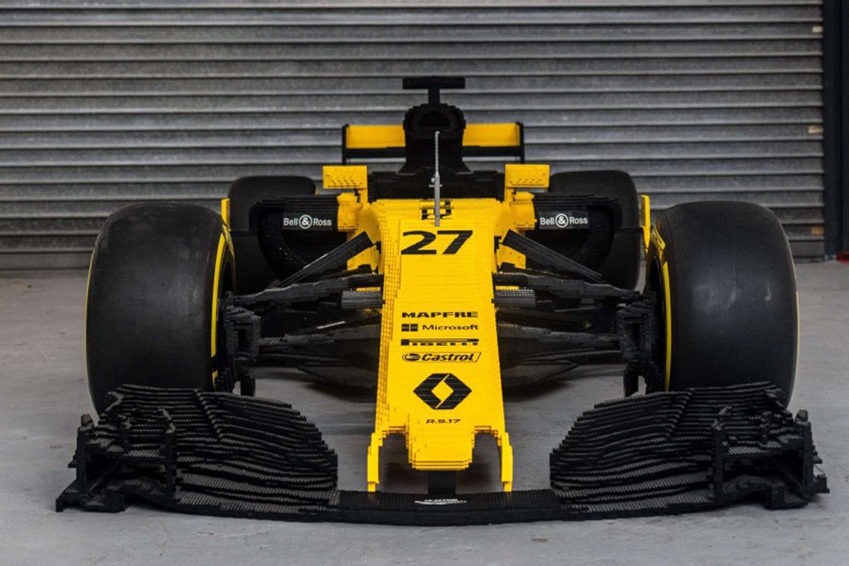 ルノー F1マシン レゴ①