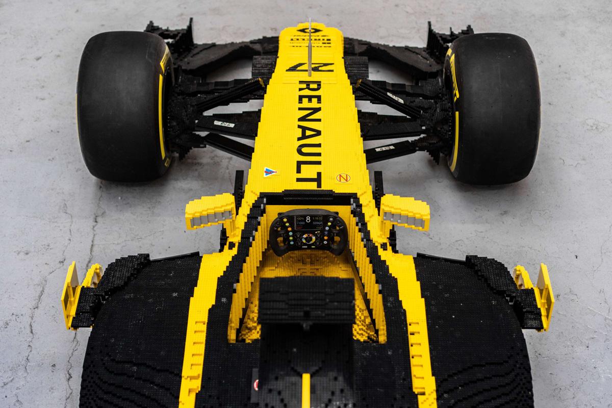 ルノー F1マシン レゴ⑤