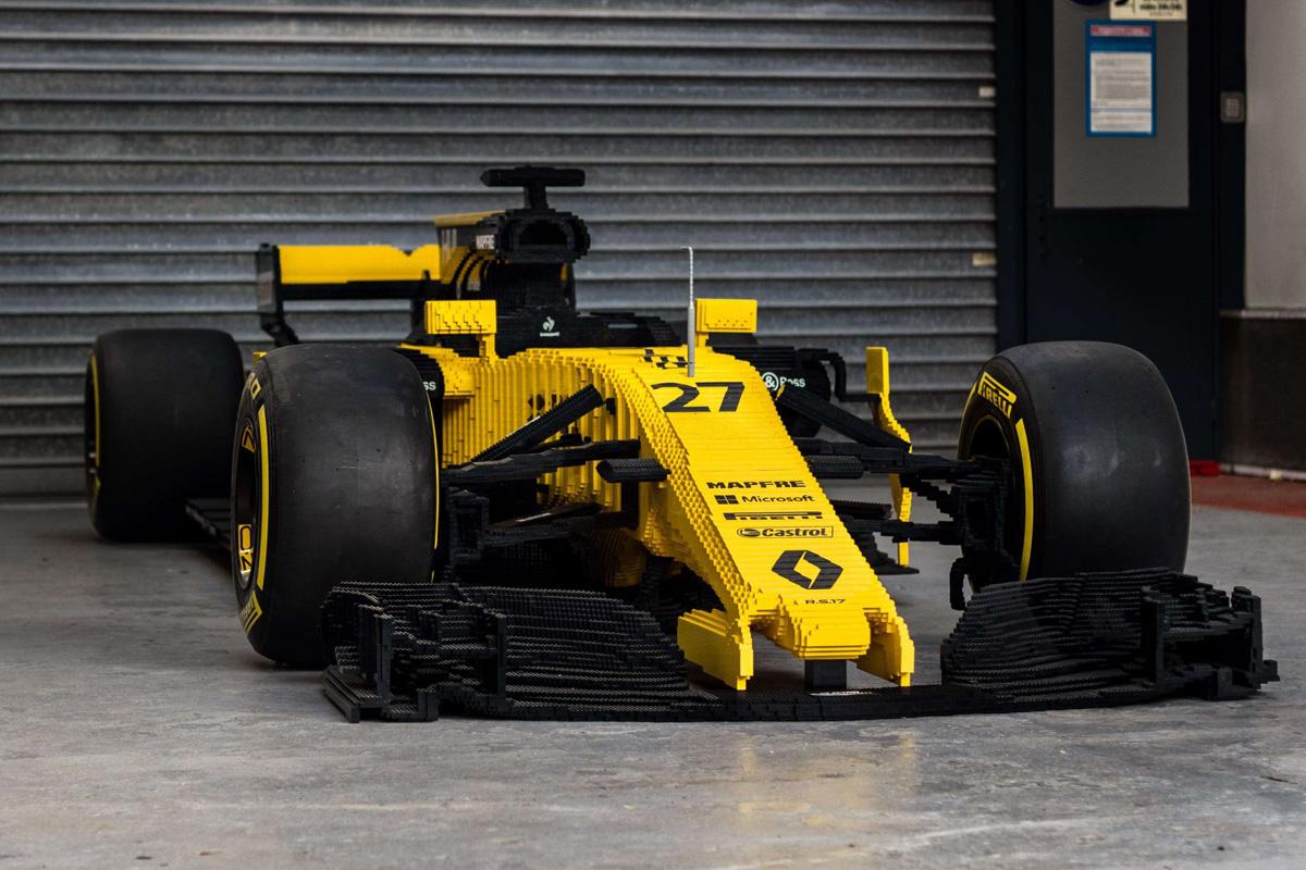 F1マシン ルノー レゴ