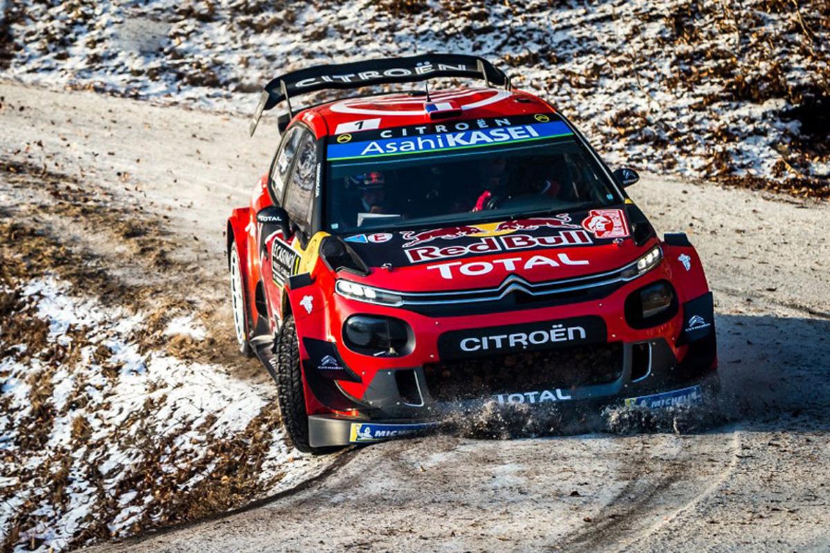 WRC ラリー・モンテカルロ