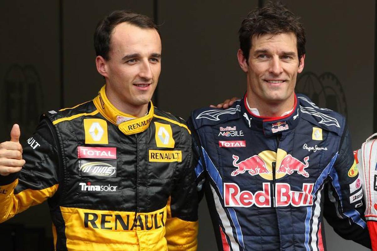F1 マーク・ウェバー ロバート・クビサ