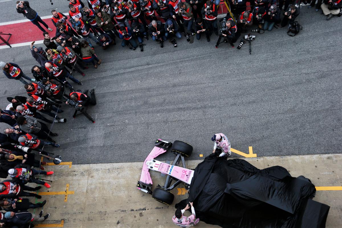 F1 新車発表会
