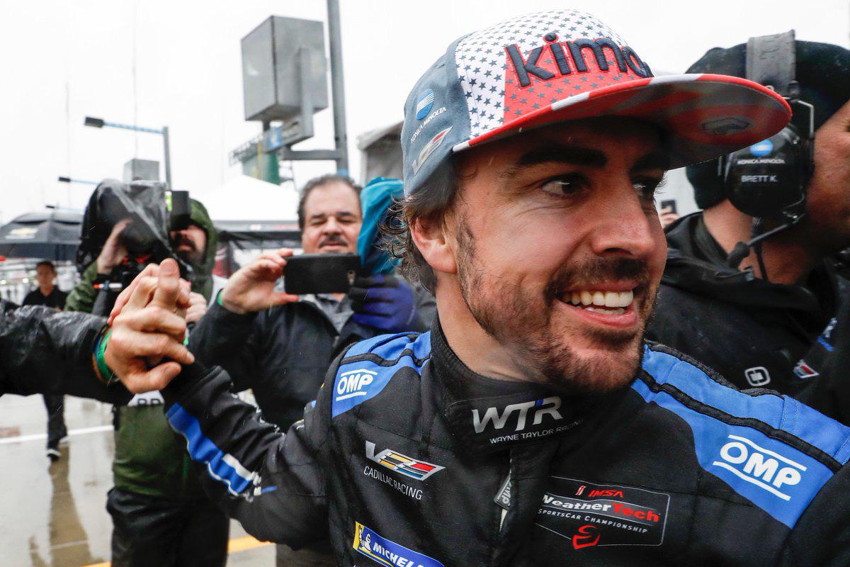 F1 フェルナンド・アロンソ デイトナ24時間レース