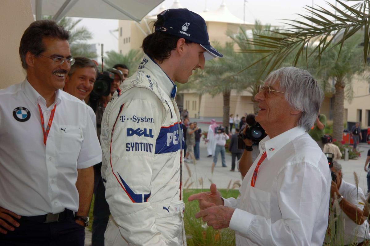 F1 バーニー・エクレストン ロバート・クビサ