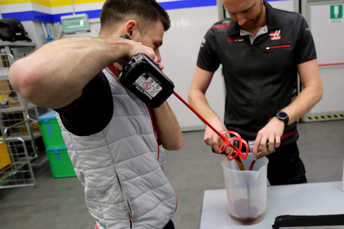 Romain Grosjean Haas VF-19