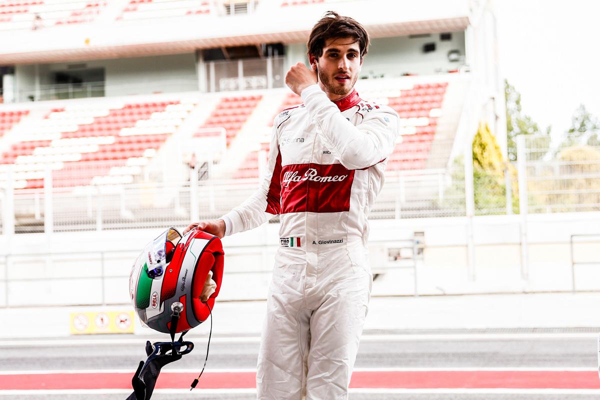 F1 キミ・ライコネン アントニオ・ジョビナッツィ