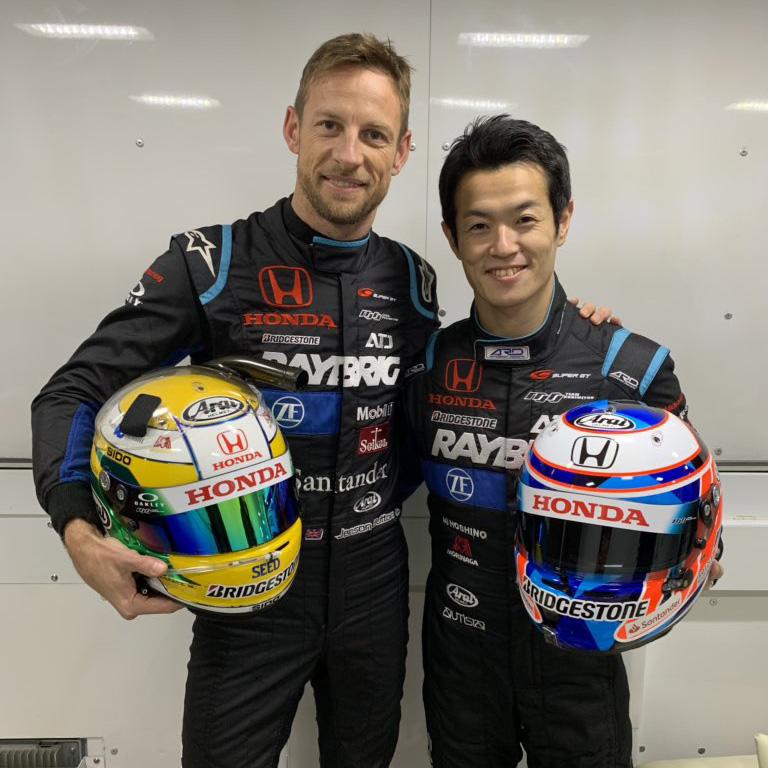 Jenson Button Naoki Yamamoto
