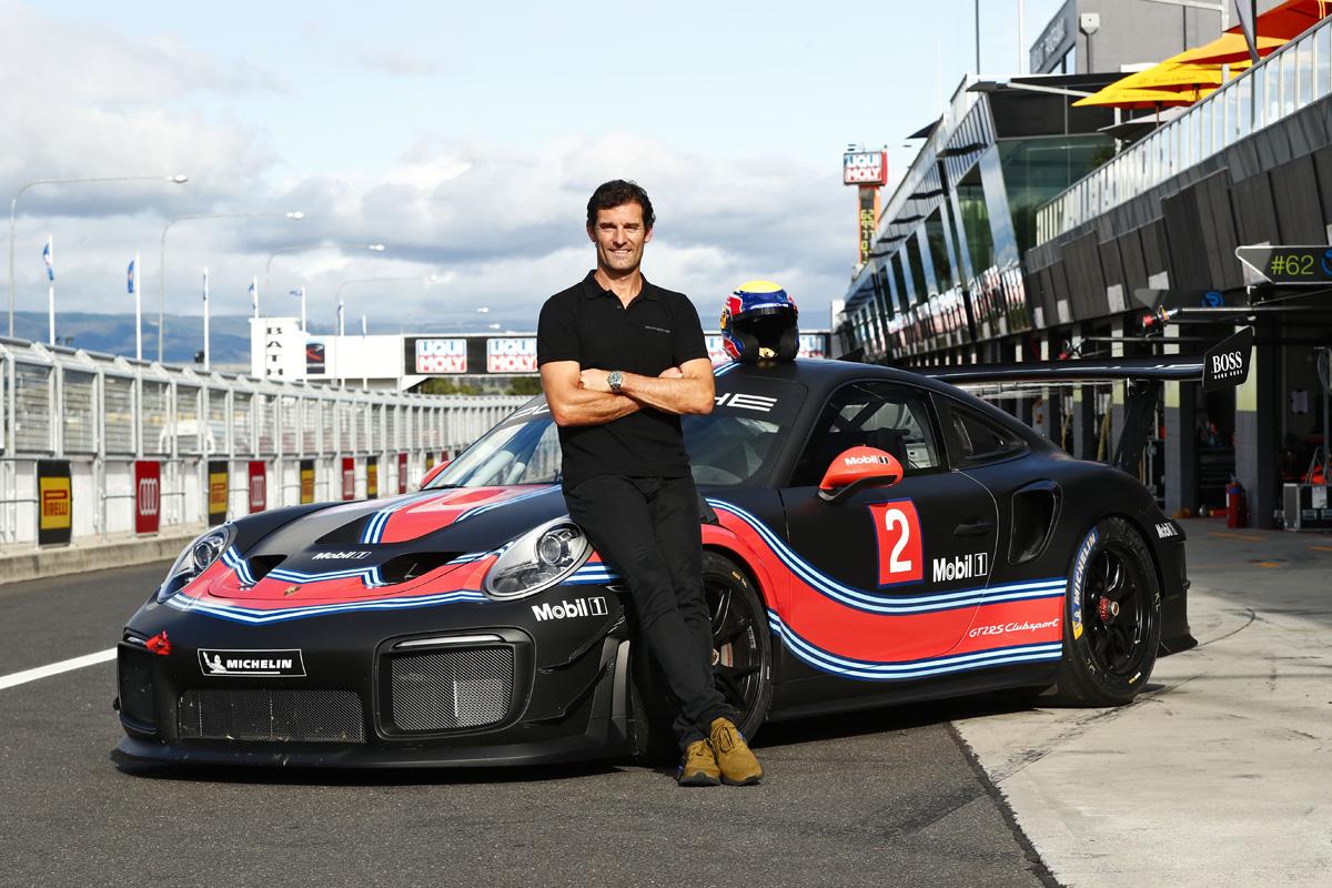マーク・ウェバー ポルシェ 911 GT2 RSクラブスポーツ