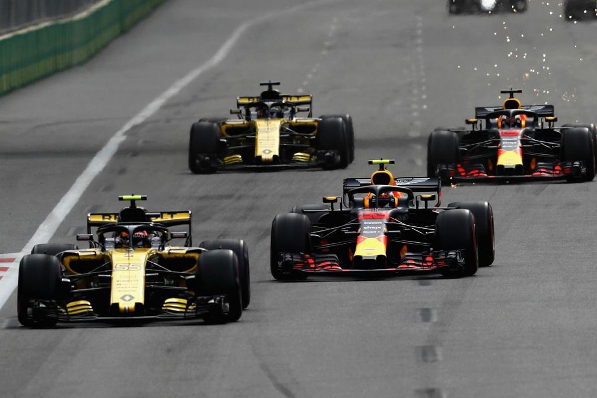 F1 ピレリ レッドブル・ホンダ ルノーF1