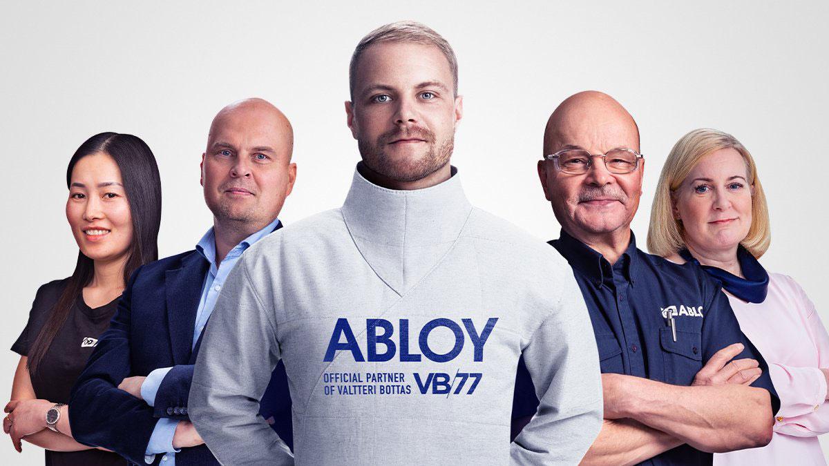 バルテリ・ボッタス、アブロイとのスポンサー契約を発表