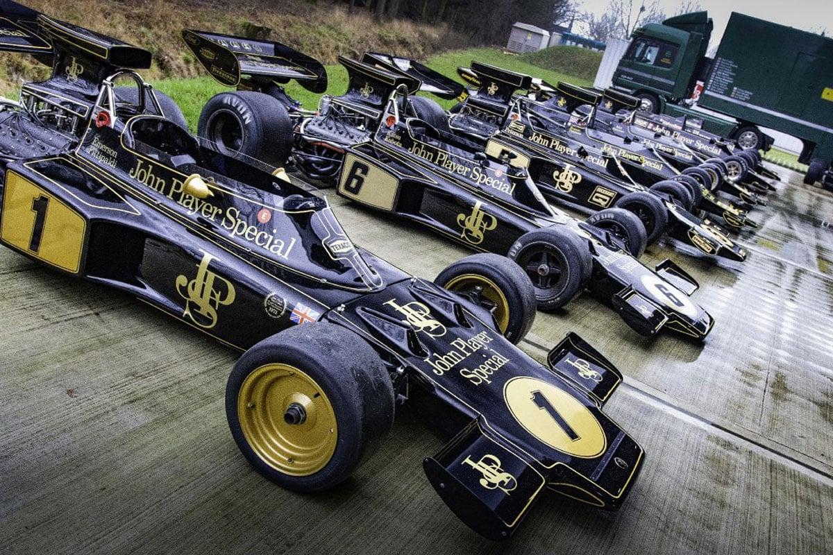JPSチーム・ロータス F1マシン
