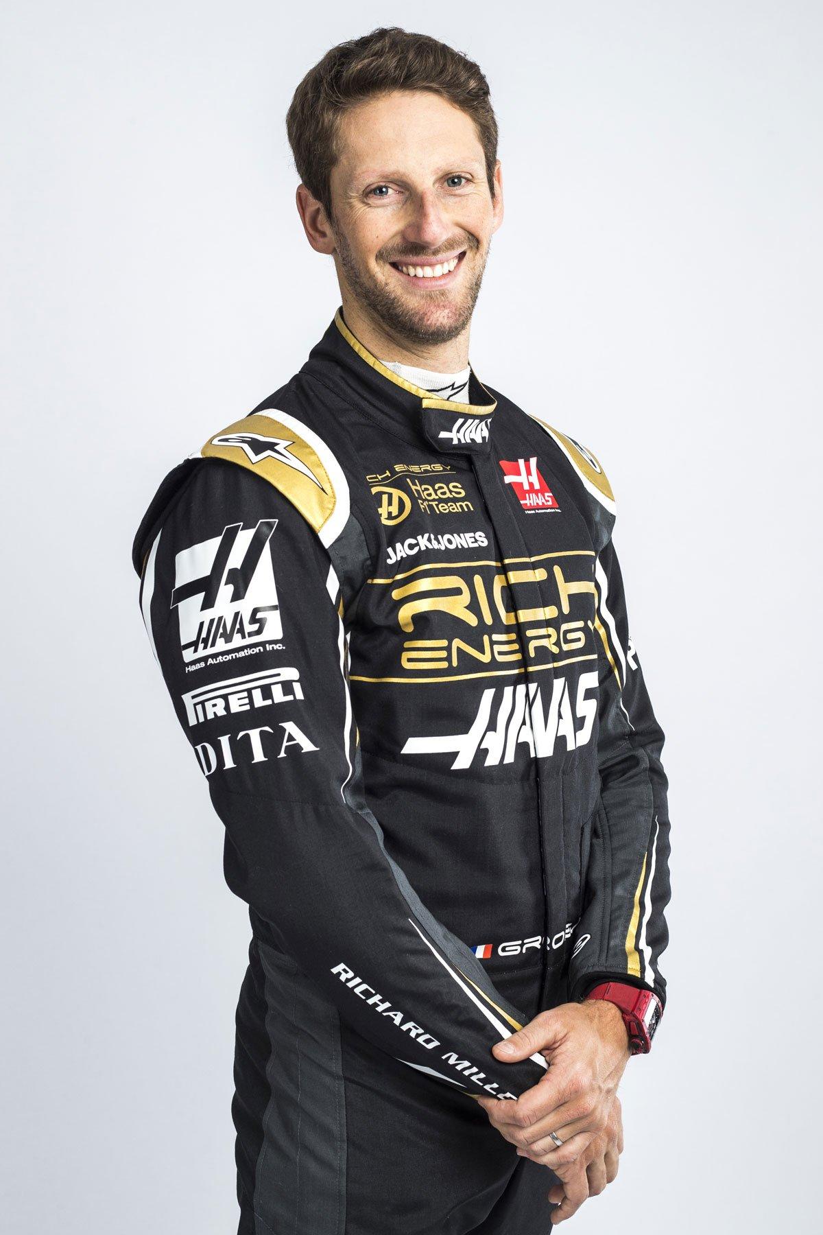ロマン・グロージャン リッチエナジー・ハースF1チーム