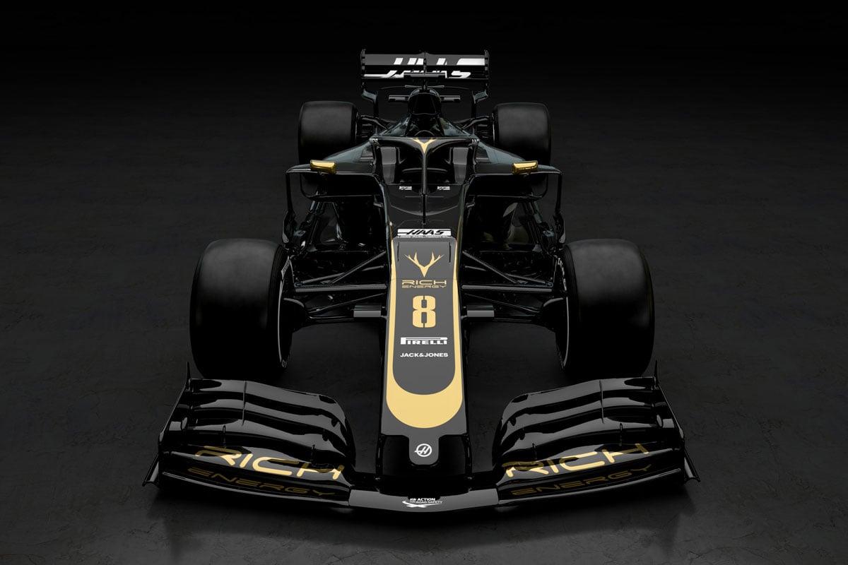 F1 ハースF1チーム VF-19