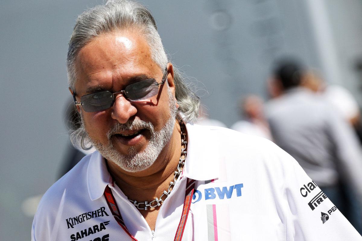 F1 ビジェイ・マリヤ フォース・インディア