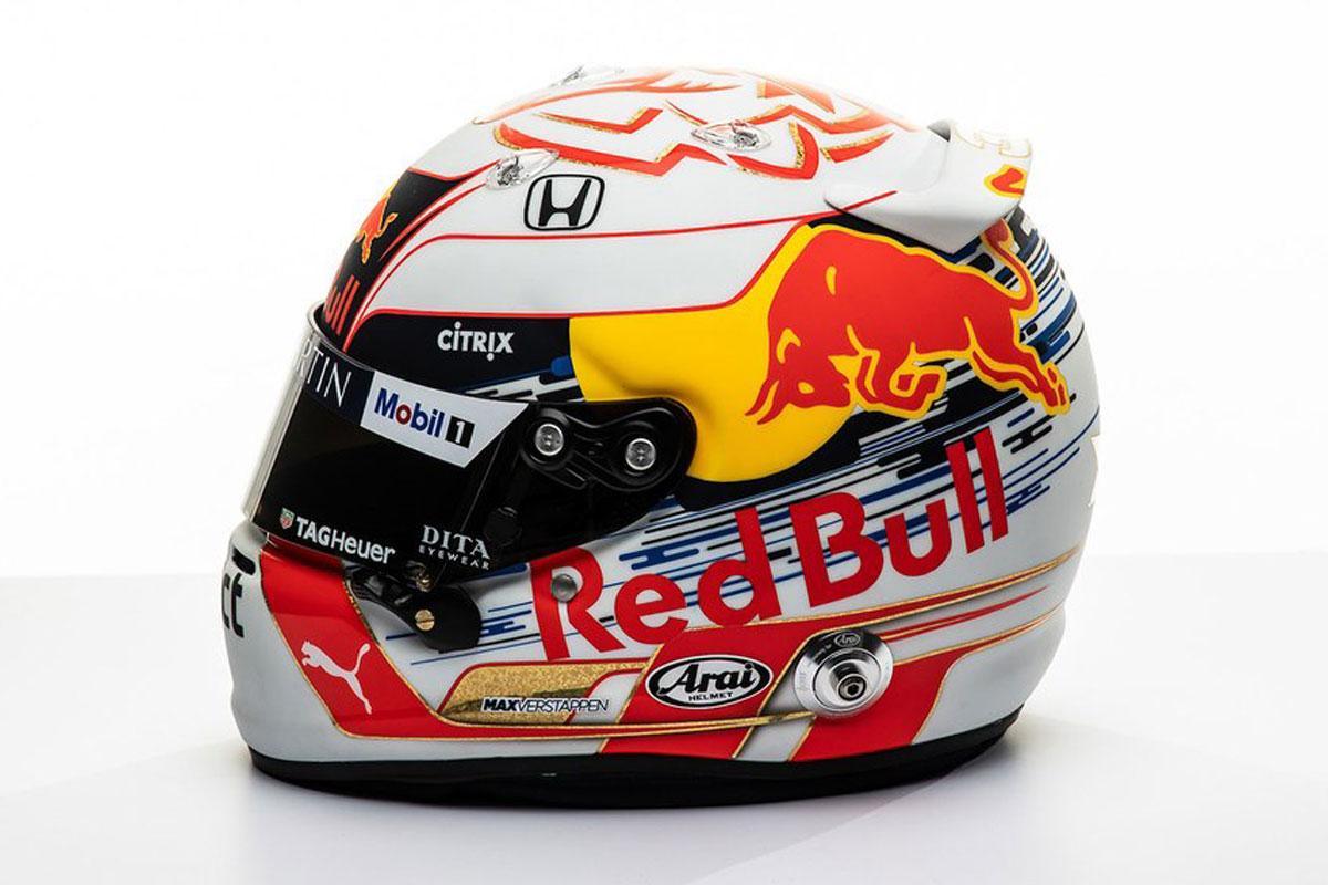 F1 マックス・フェルスタッペン 2019年 F1ヘルメット