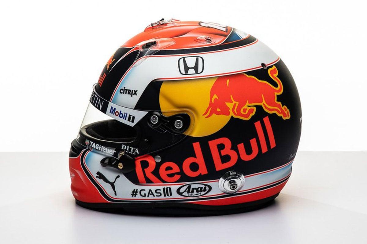 F1 ピエール・ガスリー 2019年 F1ヘルメット