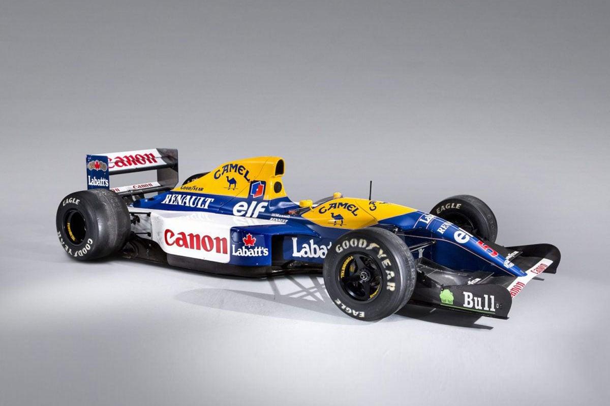 F1 ナイジェル・マンセル ウィリアムズ・FW14B