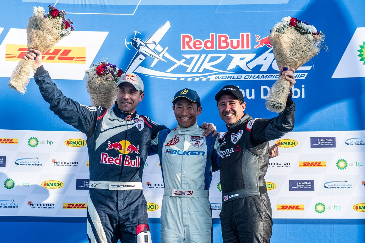 Gate Results 2019 Twitter: 室屋義秀が2019年の開幕戦アブダビで優勝! 【 F1-Gate.com